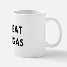 Men eat Chimichangas Mug