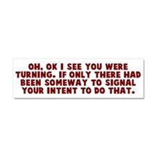 Turn Signal Car Magnet 10 x 3