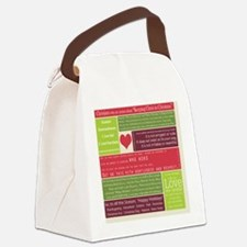 Christ in Christmas2013 - square Canvas Lunch Bag