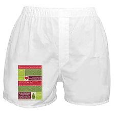 Christ in Christmas2013 framed print  Boxer Shorts