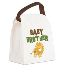 Baby Bro Lion Canvas Lunch Bag