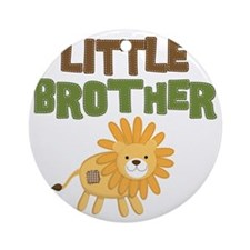 Little Bro Lion Round Ornament