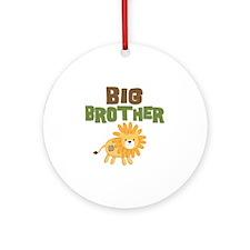 Big Bro Lion Round Ornament
