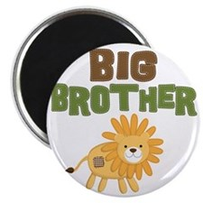 Big Bro Lion Magnet