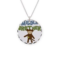 Middle Bro Monkey Necklace