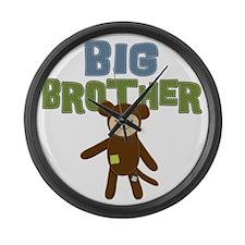 Big Bro Monkey Large Wall Clock