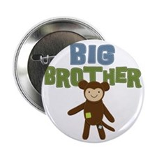 "Big Bro Monkey 2.25"" Button"