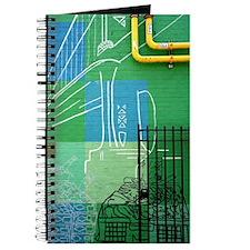 Green & yellow Journal