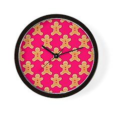 'Gingerbread Men' Wall Clock