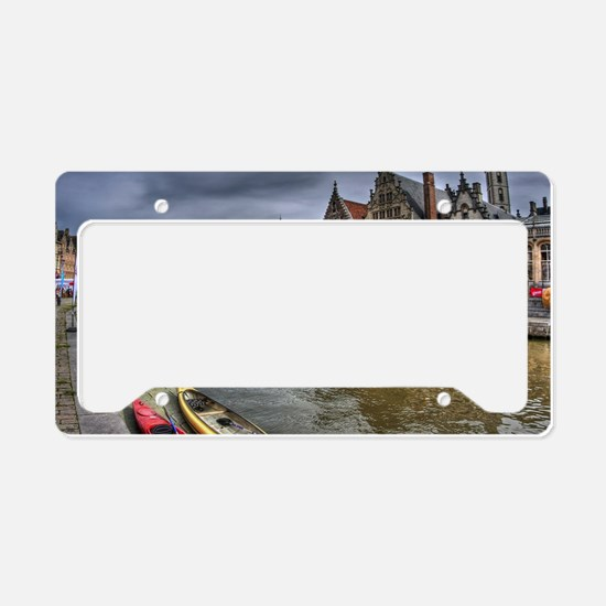 Charming Gent License Plate Holder