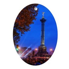 Bastille Oval Ornament