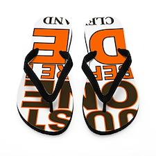 Just One Before I Die Cleveland Flip Flops