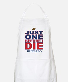 Just One Before I Die Buffalo Apron