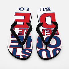 Just One Before I Die Buffalo Flip Flops