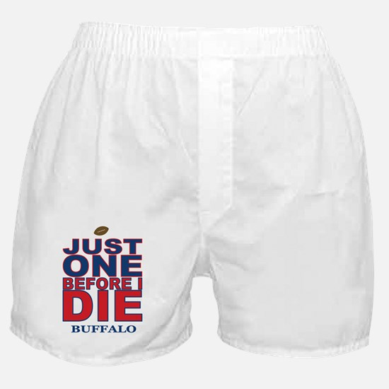 Just One Before I Die Buffalo Boxer Shorts