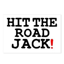 HIT THE ROAD JACK! Postcards (Package of 8)