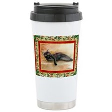Bombay Cat Christmas Travel Mug
