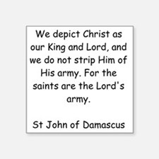 """The Lords Army Square Sticker 3"""" x 3"""""""