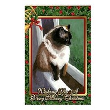 Himalayan Christmas Card Postcards (Package of 8)