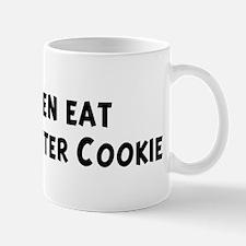Men eat Peanut Butter Cookie Mug