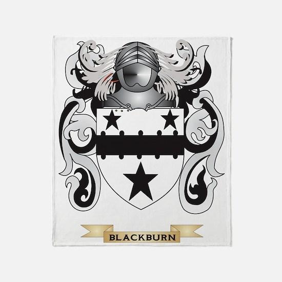 Blackburn Coat of Arms Throw Blanket