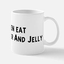 Men eat Peanut Butter And Jel Mug