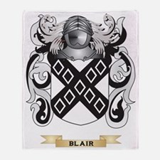 Blair Coat of Arms Throw Blanket
