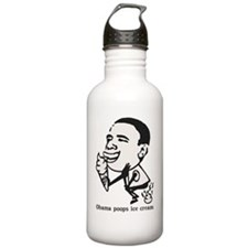Obama Poops Ice Cream Water Bottle