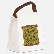 Talking Witch Board Canvas Lunch Bag