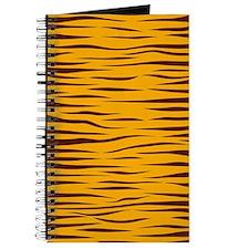 trendy tiger stripes animal print pattern Journal