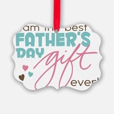 Best Fathers Day Gift Ornament