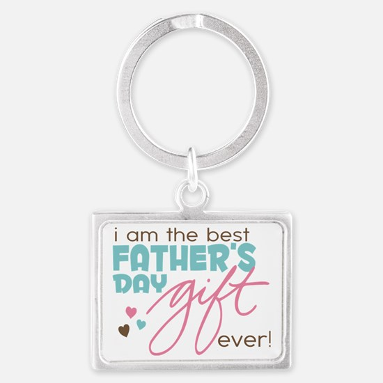 Best Fathers Day Gift Landscape Keychain