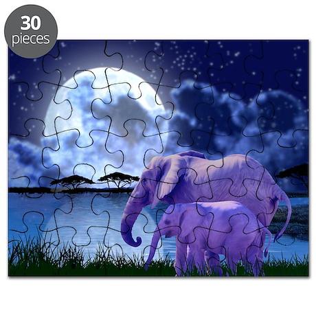 Contemplative Elephants Puzzle
