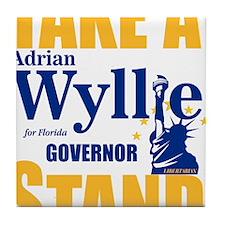 Adrian Wyllie Tile Coaster