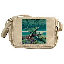 Humpback Whales Messenger Bag