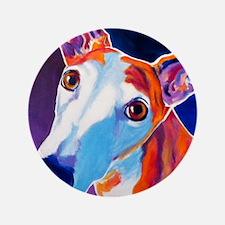 """Greyhound #3 3.5"""" Button"""