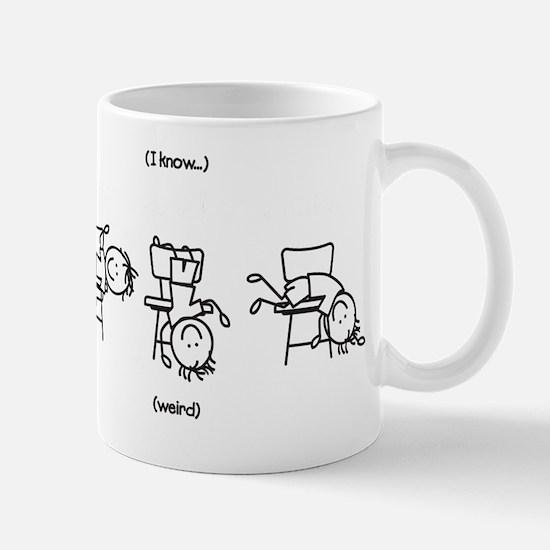 Some People Sit On Chairs Mug