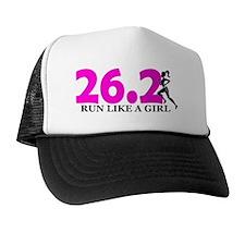 Run Like a Girl 26.2 Trucker Hat