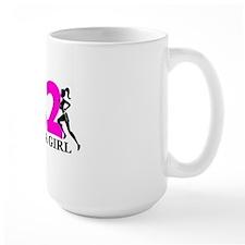 Run Like a Girl 26.2 Mug