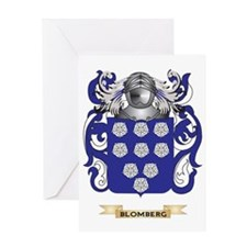 Blomberg Coat of Arms Greeting Card