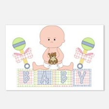 Cute Bald Baby Postcards (Package of 8)
