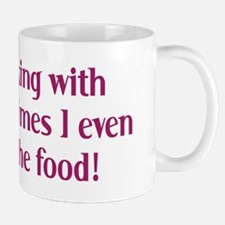 Cooking with wine T-Shirt Mug