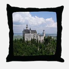 Neuschwanstein Castle Throw Pillow