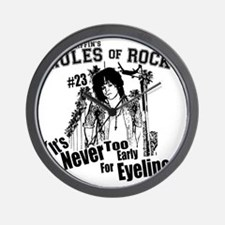Scott Griffins Rules of Rock #23 Wall Clock