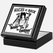 Scott Griffins Rules of Rock #23 Keepsake Box