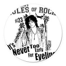 Scott Griffins Rules of Rock #23 Round Car Magnet
