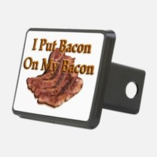 0On My Bacon banner Hitch Cover