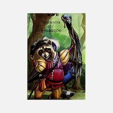 Bandits of Basswood - John Willia Rectangle Magnet