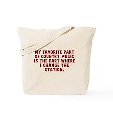 Favorite Part of Music Tote Bag