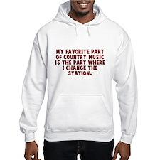 Favorite Part of Music Hoodie